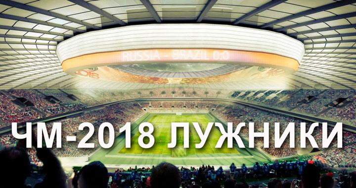Стадион лужники москва чм- 2018