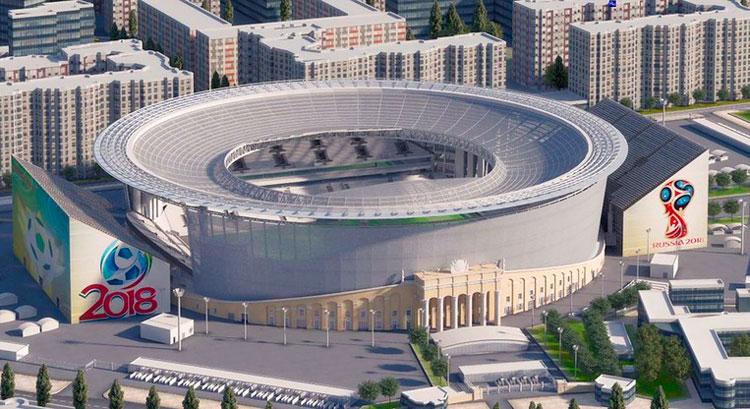 Новый стадион после реконструкции Екатеринбург арена