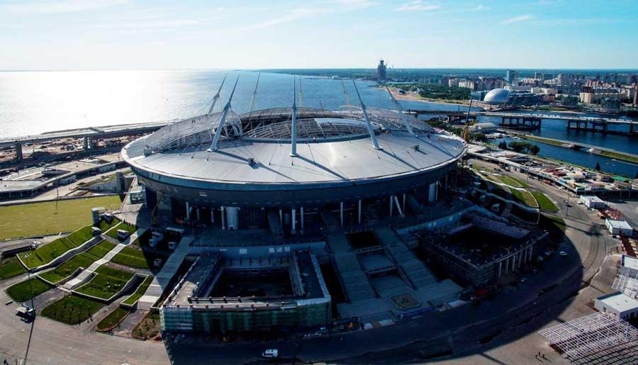 Стадион в Спб