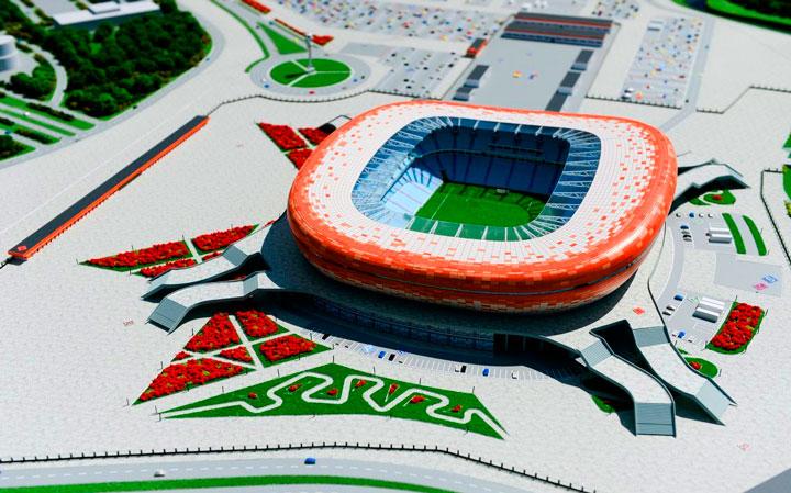проект стадиона в мордовии