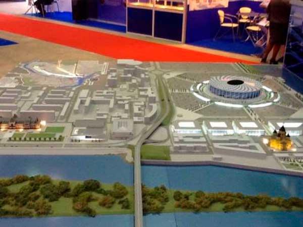 Схема строительства стадиона в нижнем новгороде