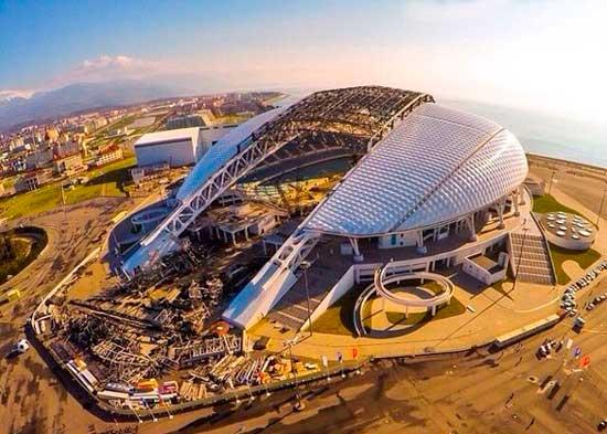 Сочи и строительство стадиона