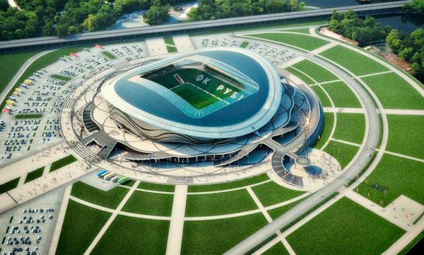 Рубин футбольный стадион