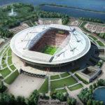 Новый Стадион в Санкт-Петербурге на Крестовском. Арена для ЧМ 2018