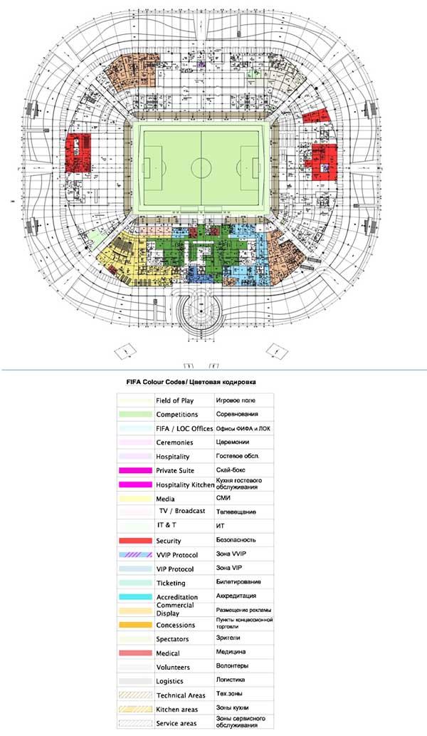 Стадион в ростове на 2018 год