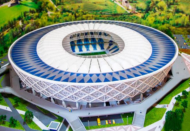 Новый Стадион Для Чемпионата Мира По Футболу 2018