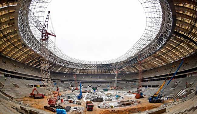 возведение и строительство стадиона в Самаре
