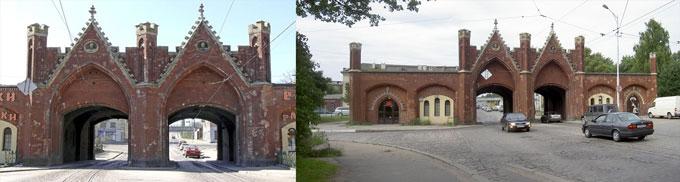 Калининград: браденбургские ворота
