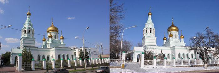 Ростовский храм Серафима Саровского