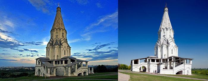 Москва: храм Вознесения в Коломенском
