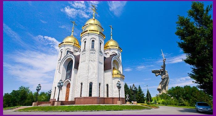 Волгоград. Храм всех святых