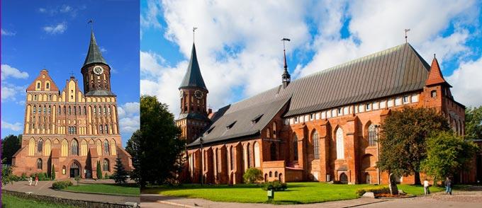 Калининград: кафедральный собор