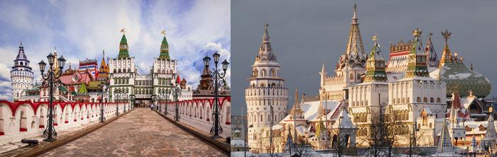 Москва: Кремьль в Измайлово