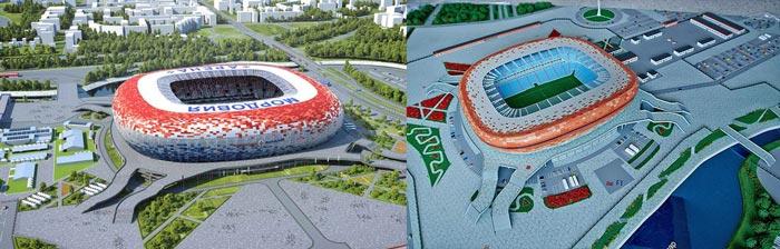 Саранск: Мордовия-Арена