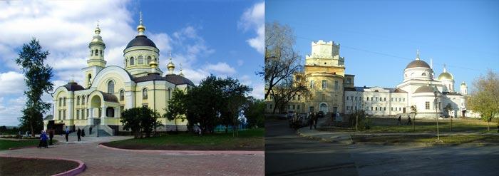 Женский монастырь в Екатеринбурге