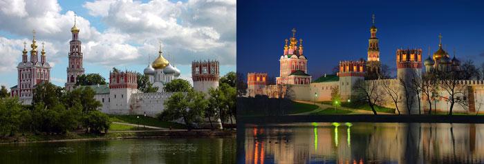 Москва: Новодевичий женский монастырь