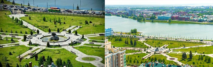 Казанский парк тысячелетния