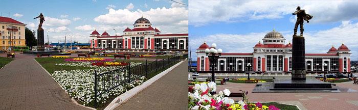 Саранск: привокзальна площадь