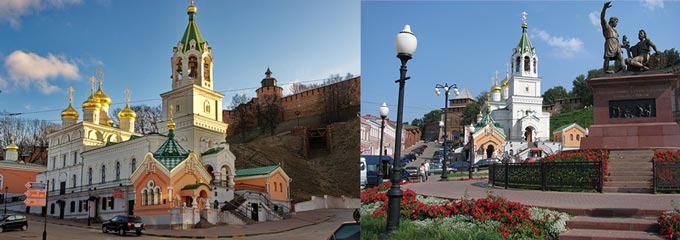 Нижний Новгород: церковь Иоанна Предтечи