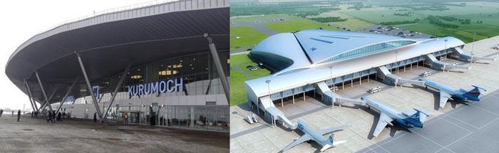 Самара: аэропорт Курумоч