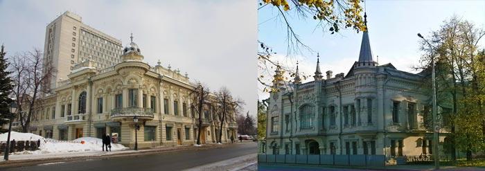 дома Шамиля и Ушковой в Казани