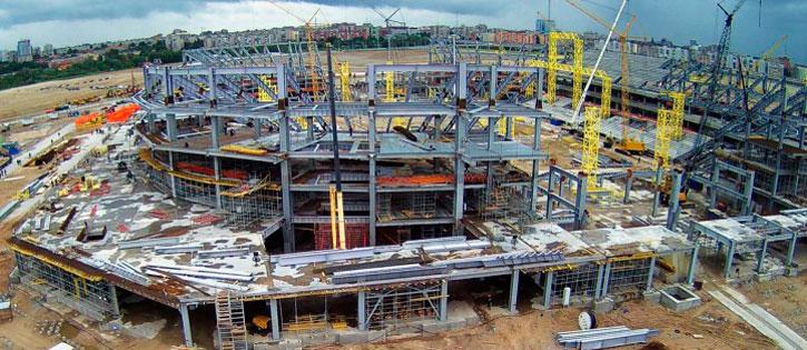 Построили стадион чм 2018 в калининграде