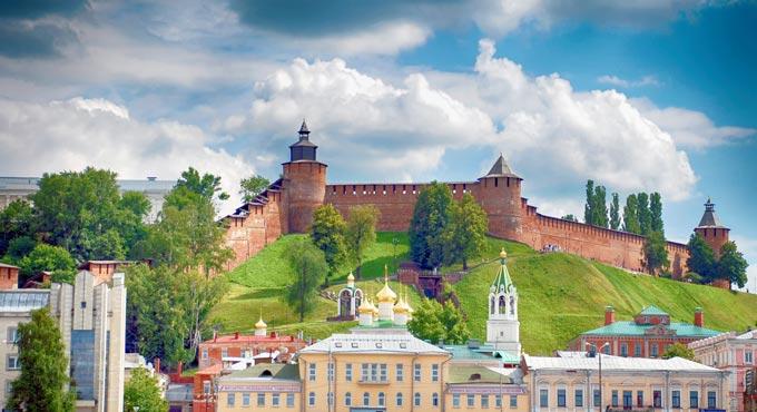 Нижний Новгород: собор внутри кремля