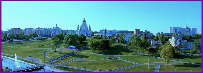 Саранск панорама