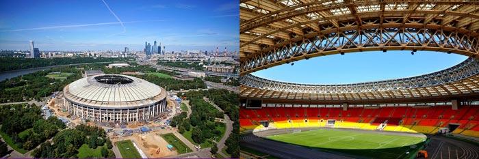 Москва стадион Лужники