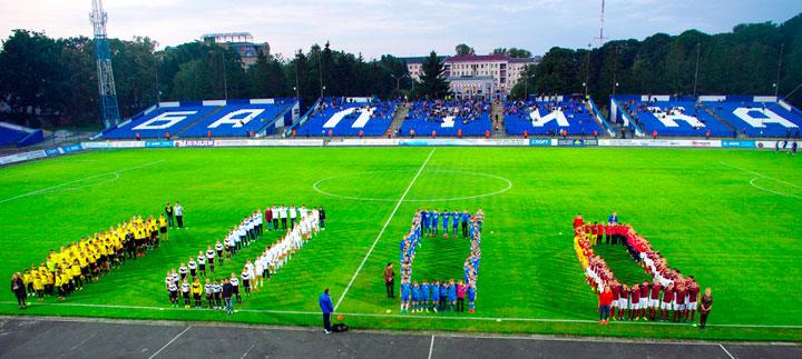 Стадион балтика в калининграде