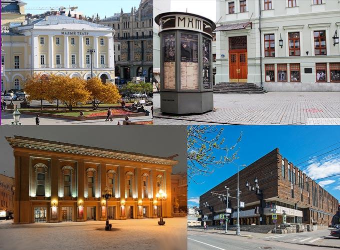 Москва: театры и МХТ