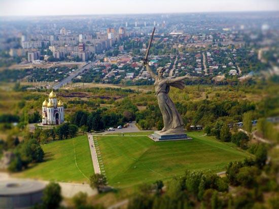 Виды Волгограда