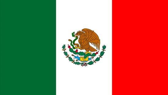 Флаг сборной мексики