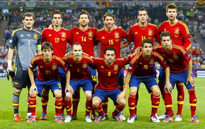 состав сборной испании
