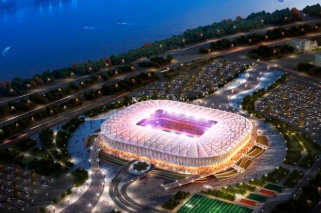 Стадион fifa Ростова