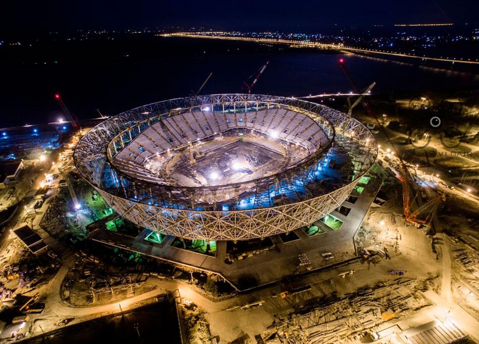 Новости стадиона арены в волгограде