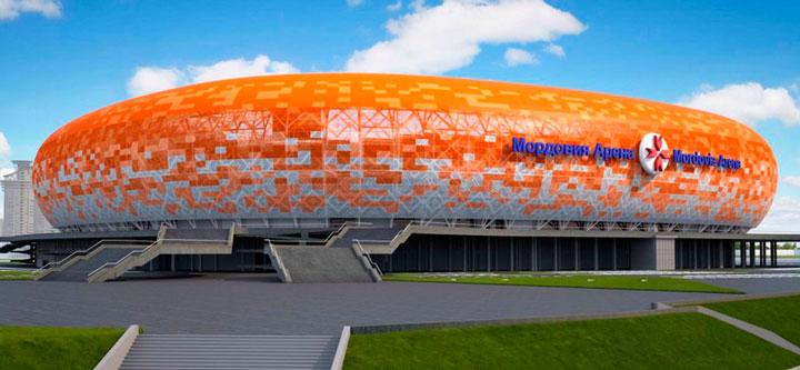 стадион оранжевый мордовия арена