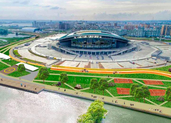 Футбольный стадион 2018