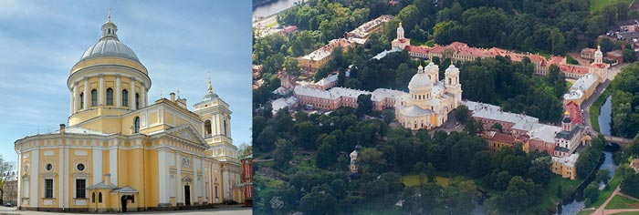 Санкт-Петербург: Александро-Невская лавра