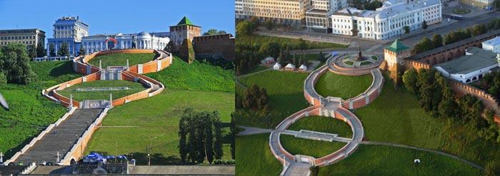 Нижний Новгород: Чкаловская лестница
