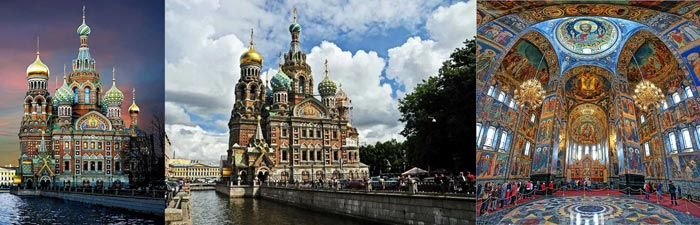 Санкт-Петербург: храм Спаса-на-Крови