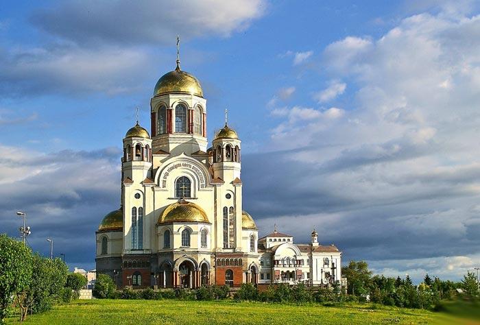 Екатеринбургсикй храм на крови