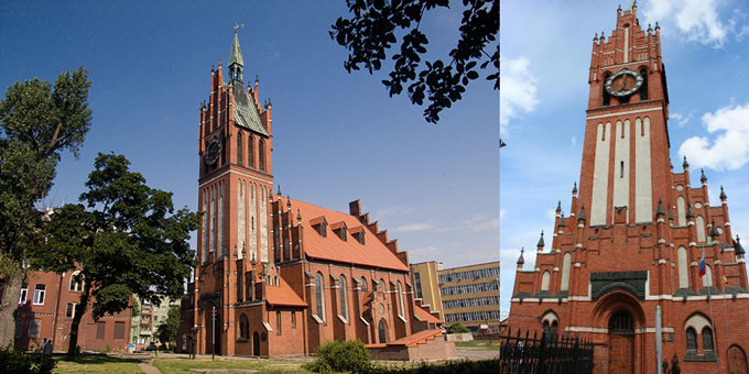 Калининград: Кирха Святого семейства