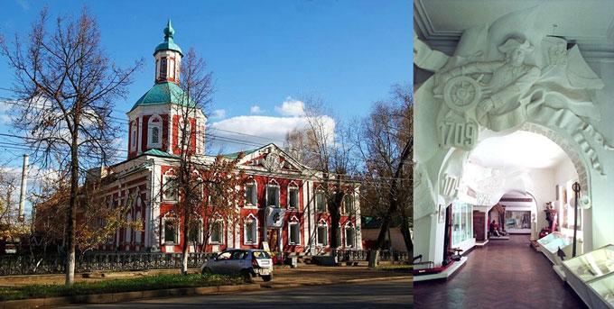 Саранск краеведческий музей им. И.Д. Воронина