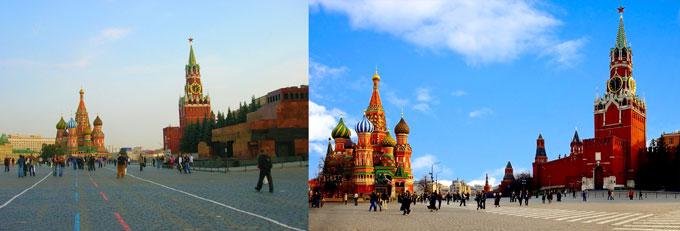 Москва: Красная площадь
