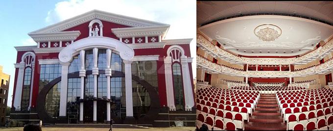 Саранск: музкальный театр Яушева