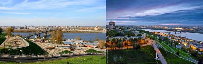 Нижний Новгород: набережная Федоровского