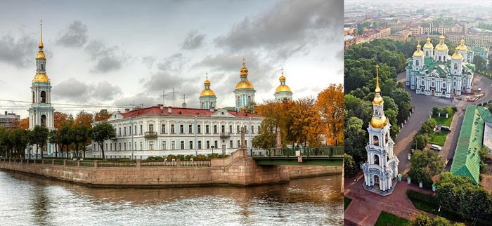 Санкт-Петербург: Никольский морской собор