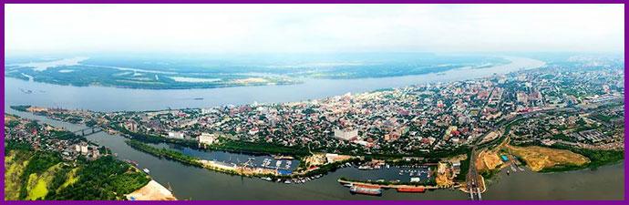Самара - река и город