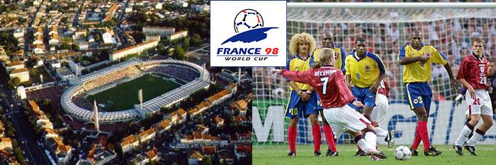 1998 чемпионат мира по футболу